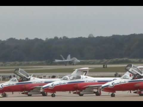 2009 NAS Oceana Airshow - F/A-18F Super Hornet Demonstration Video