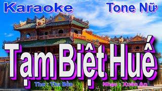 Nhạc Trữ Tình Quê Hương Lay Động Triệu Con Tim Hay Nhất - BEAT Tạm Biệt Huế Karaoke ( MI Trưởng )