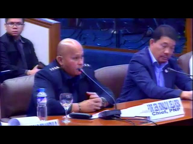 Bato: Duterte order to reinstate Marcos boosts PNP's morale