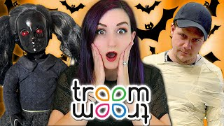 Trying Terrible Troom Troom HALLOWEEN PRANKS