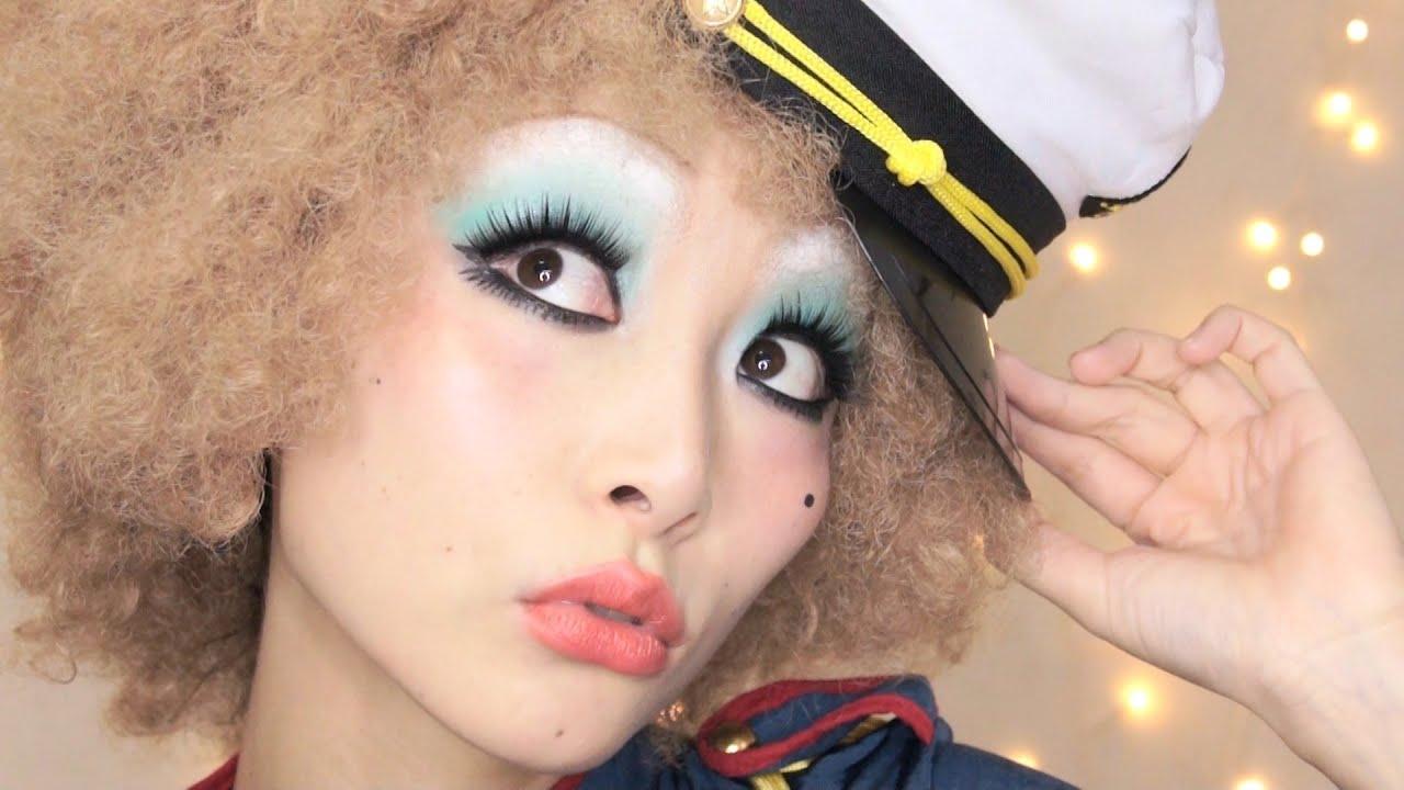 Makeup Cabaret Movie Look