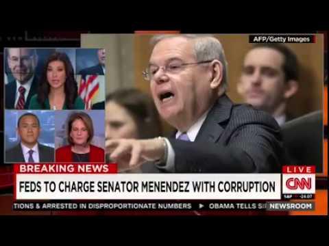 BREAKING: DOJ Charging Sen. Bob Menendez (D-NJ) With Corruption