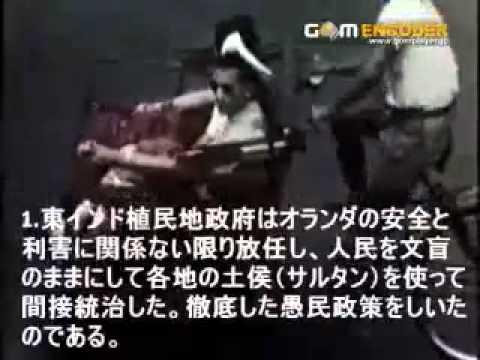 オランダに350年支配されてたインドネシアを、日本軍が9日間で解放