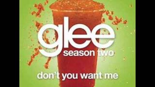 Watch Glee Cast Dont You Want Me video