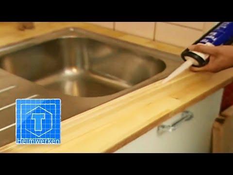 Arbeitsplatte Für Die Küche Austauschen | ToolTown Heimwerk Tipps