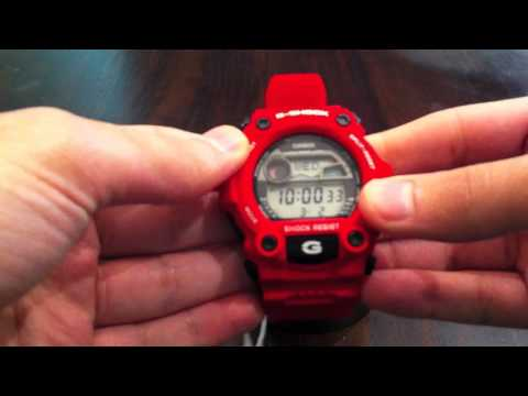 Casio G-Shock Rescue Red Digital Watch Unboxing G-7900A-4