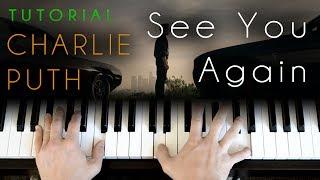 Download Lagu Charlie Puth - See You Again (piano tutorial) Gratis STAFABAND