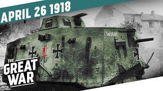 The First Tank-on-Tank Battle in History - The Zeebrugge Raid I THE GREAT WAR Week 196