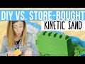 DIY Vs. Store-Bought Kinetic Sand