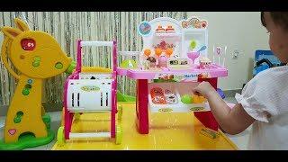 Tí Hỷ lắp ghép đồ chơi bán kem - Tí Hỷ TV