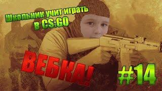 Школьник учит играть в CS GO #14 - Вебка!