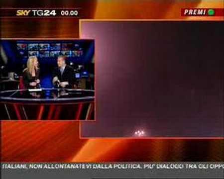 Sky tg24, edizione delle 24 notte di capodanno 2006-2007