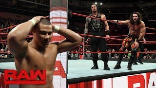 Cesaro & Sheamus vs. Roman Reigns & Seth Rollins - Raw Tag Team Title Match: Raw, Feb. 5, 2018