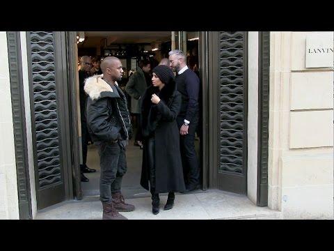 Kim Kardashian and Kanye West are reunited in Paris