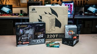 Watch us build an all AMD gaming PC!