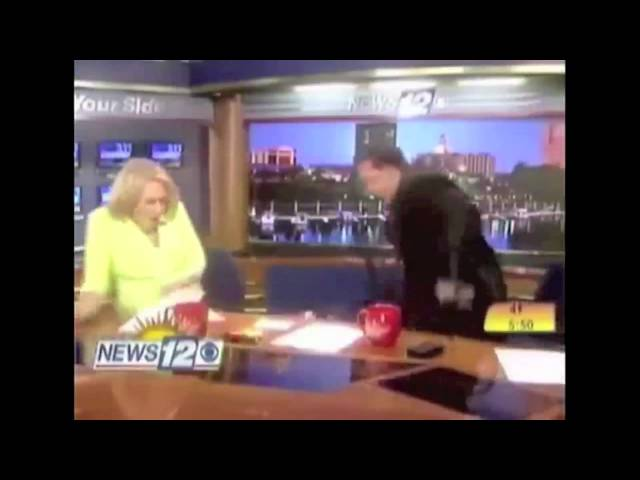 WRDW likes Spiders! Newsroom Bloopers!
