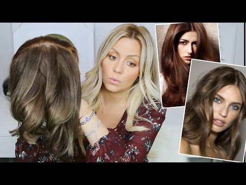 How to Tone Brassy / Reddish Brown Hair
