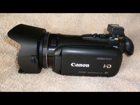 Unboxing Canon Legria HF-G25 (aka Vixia HF-G20); Part 1