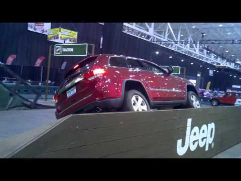 2012 Grand Cherokee at Auto Show