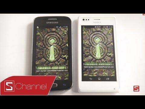 Schannel - So sánh Xperia M vs Galaxy Ace 3: Camera, hiệu năng, giao diện... Phần 2 - CellphoneS