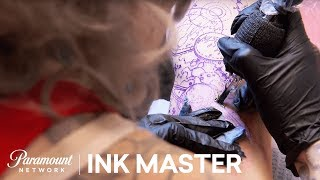 Elimination Tattoo: Outer Space - Ink Master, Season 8