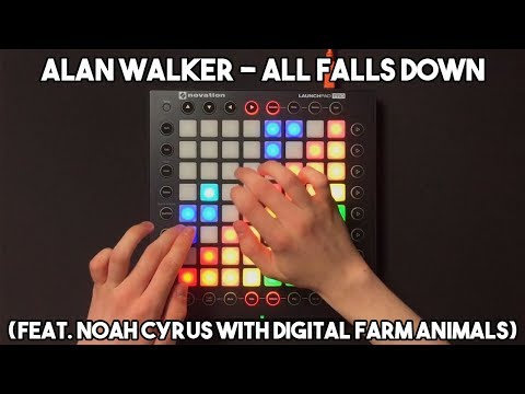 Alan Walker - All Falls Down (feat. Noah Cyrus with Digital Farm Animals) // Launchpad Pro Cover