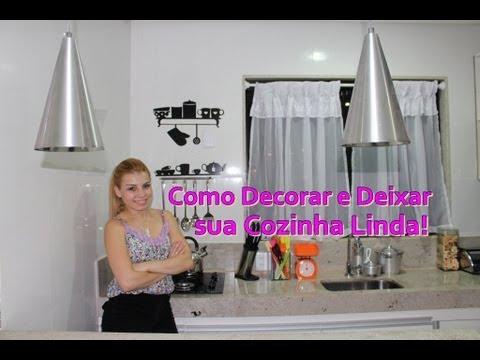 Como Decorar e deixar a Cozinha Linda! - YouTube