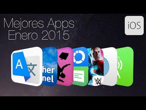Las mejores aplicaciones para iPhone y iPad (Enero 2015)