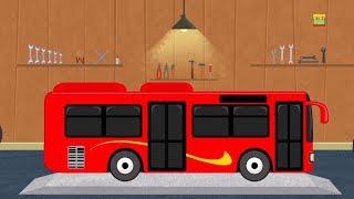 méxico ônibus | carros garagem | desenho animado | Vídeo para crianças | Toy Vehicle | Mexico Bus