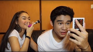 Download Lagu GIRLFRIEND DOES MY MAKEUP! | Ft. Caitlin Halderman Gratis STAFABAND