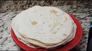 Tortillas de harina tutorial parte#2