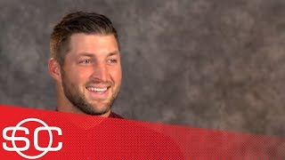 Tim Tebow describes the transition from Heisman winner to baseball player | SportsCenter | ESPN