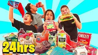LAST TO STOP EATING WINS $10,000 CHALLENGE!!