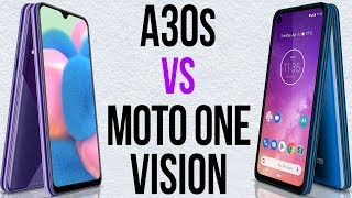 A30s vs Motorola One Vision (Comparativo)