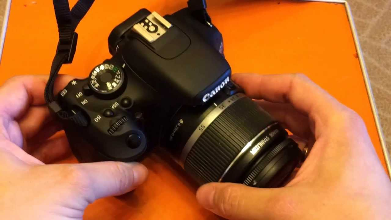 Canon EOS 600D-кратенько