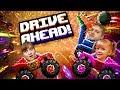 ЧЕЛЛЕНДЖ Drive Ahead Мама и Папа кто выиграет Битва машинок игровой мульт от МультиPlay mp3