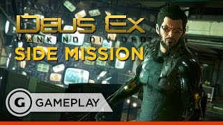 Deus Ex: Mankind Divided - Side Mission PC Gameplay