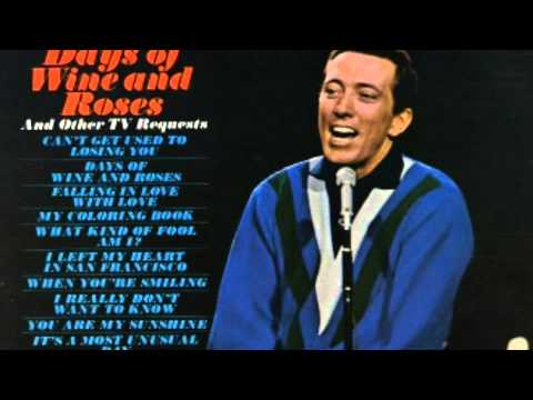 Andy Williams - Its a Most Unusual Day