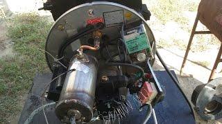 Automatic waste oil burner (Arzator ulei uzat)