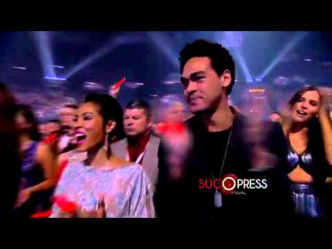 Will Smith pone a bailar a todos en los Latin Grammys