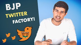 Twitter Factory of BJP: Caught Red Handed! | Dhruv Rathee and Pratik Sinha