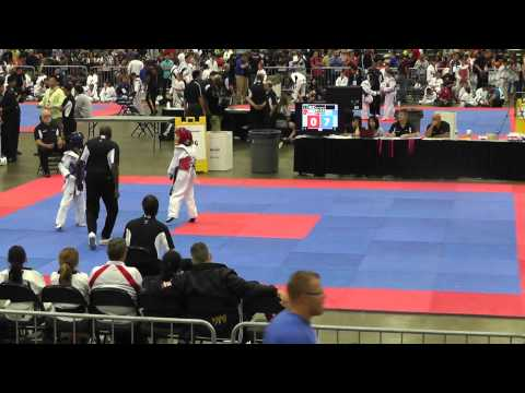 Priscilla Jo @ 2012 Junior Olympic Taekwondo Sparring