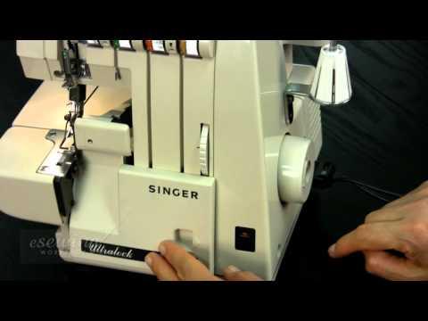 overview singer serger overlock sewing machine free sample youtube. Black Bedroom Furniture Sets. Home Design Ideas