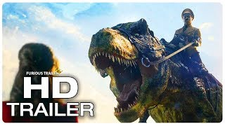 IRON SKY 2 Trailer #2 (NEW 2019) Dinosaur Sci-Fi Movie HD