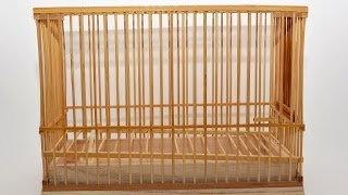 New Natural Pet Foods bamboo basket Shakusun Bird Cage Takekago  67259