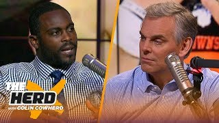 Michael Vick joins Colin to talk Daniel Jones, Browns slow start and Cowboys | NFL | THE HERD
