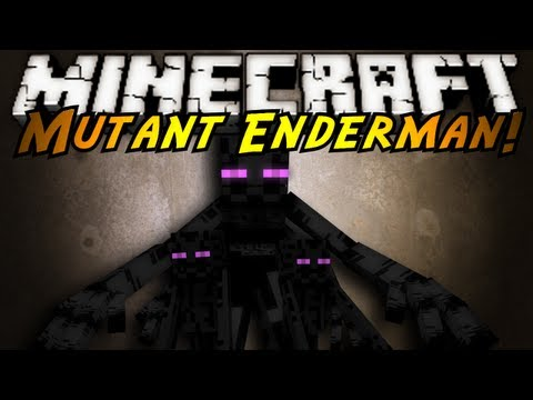 Minecraft Mod Showcase : MUTANT ENDERMAN
