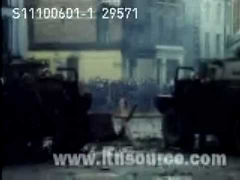 Bloody Sunday Footage 1972