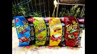 Taster's Tavern-Takis Flavor Challenge Chips, Summer Party Ed, with Jack, Allen & Matthew