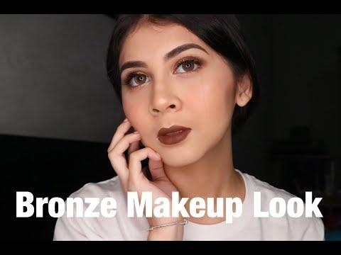 Bronze Make Up Look - Kesha Ratuliu